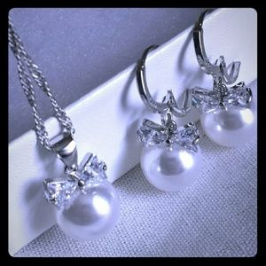 Earring and Necklace Bundle Set